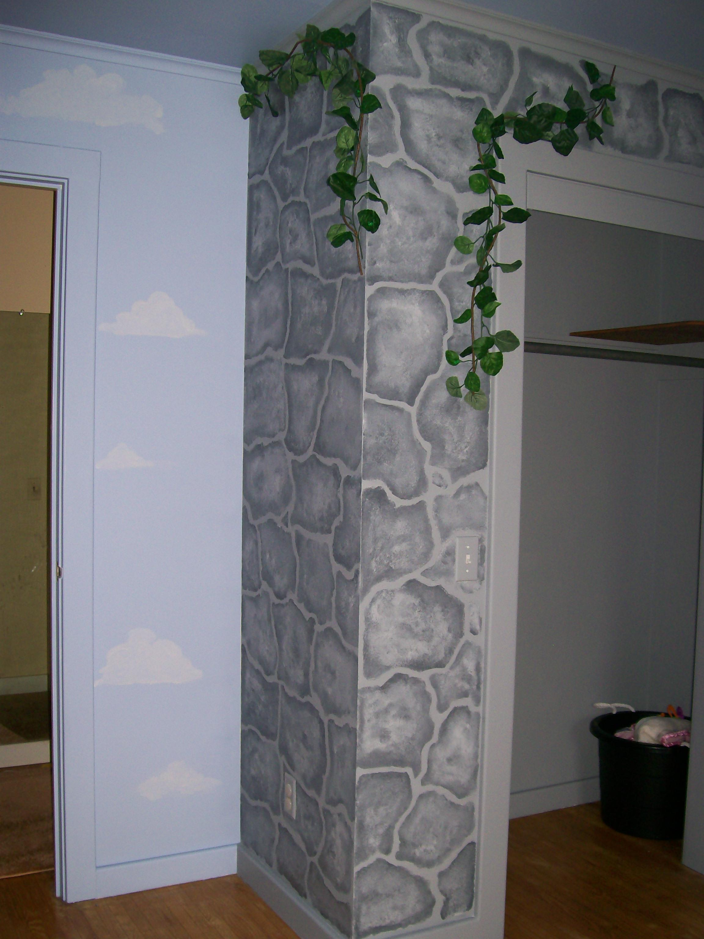 Faux painting frugal frights and delights for How to paint faux marble wall