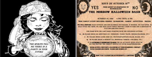 My Halloween Invite for 2013.