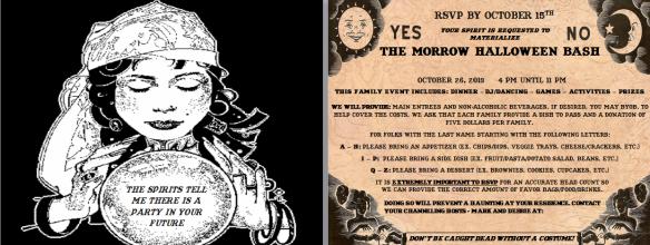 My Halloween Invite for 2013.