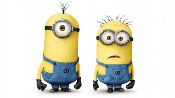 Minions are everywhere. Image courtesy of Lewallpaper.