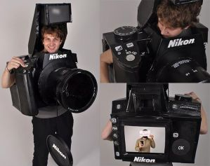 How would you like to find a camera case for this one? Image courtesy of tylercard at Instructables.