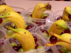 Banana Dolphins. Image courtesy of Luz's Unique Creations on Facebook.
