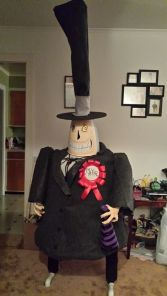 It took over 50 PVC cuts to make the Mayor but it was so worth the effort. Image courtesy of Debbie Morrow, all rights reserved.