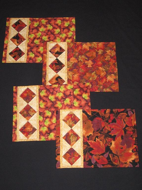 Diy Fall Table Runners And Placemats Frugal Frights And