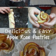 These rose pastries will impress a crowd. image and directions can be found at: http://thethriftycouple.com/2014/09/17/apple-rose-flower-pastries-dessert-recipe-delicious-easy-and-beautiful/