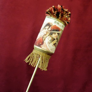 This beautiful vintage inspired noise maker can really wow your party crowd. Image courtesy of vintageimagecraft.com