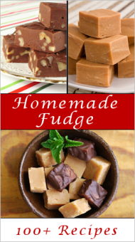 Who can resist fudge? Tipnut has a plethora of recipes at: http://tipnut.com/homemade-fudge/