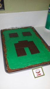 This cookie cake was simple and a huge hit will all the guest. Image courtesy of Debbie Morrow.