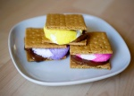 Peeps now have a place around the campfire with Bakedbee.com's image/idea of Peep s'mores.
