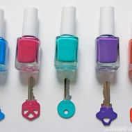 If mom is always struggling to find the keys, she'd be grateful if you color coded them. Image courtesy of abubblylife.com