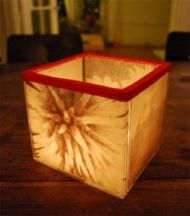 Reuse CD cases and make a lamp. Image/directions at: blog.cdrom2go.com